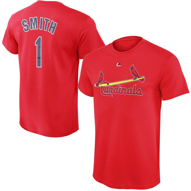 hot sale online 66a79 5fff7 Ozzie Smith St. Louis Cardinals Majestic Youth Cooperstown ...