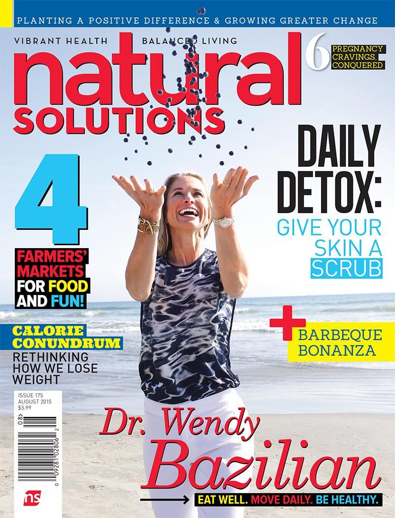 Stokke Flexi Bath featured in Natural Solutions Magazine, a national ...