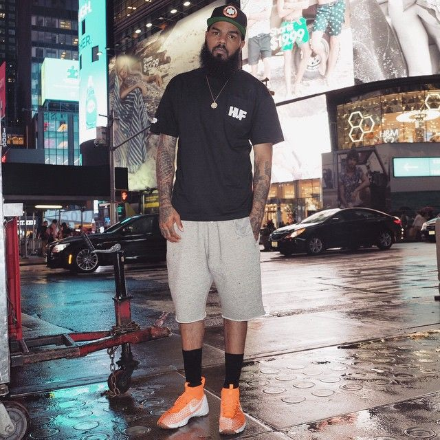 new products 29fec ad94d Stalley wearing the Nike Air Footscape Magista Netherlands