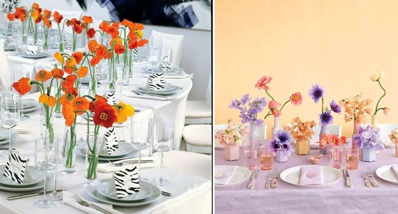5 Wedding Table Setting Ideas to Get Your Guests Talking | orange ...