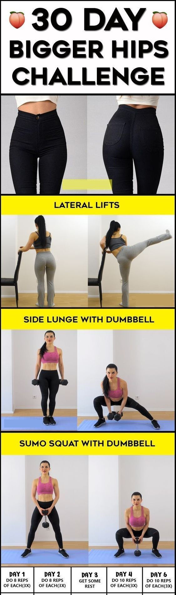 Bigger Hips, How To Increase Hips Size Naturally At Home -9419