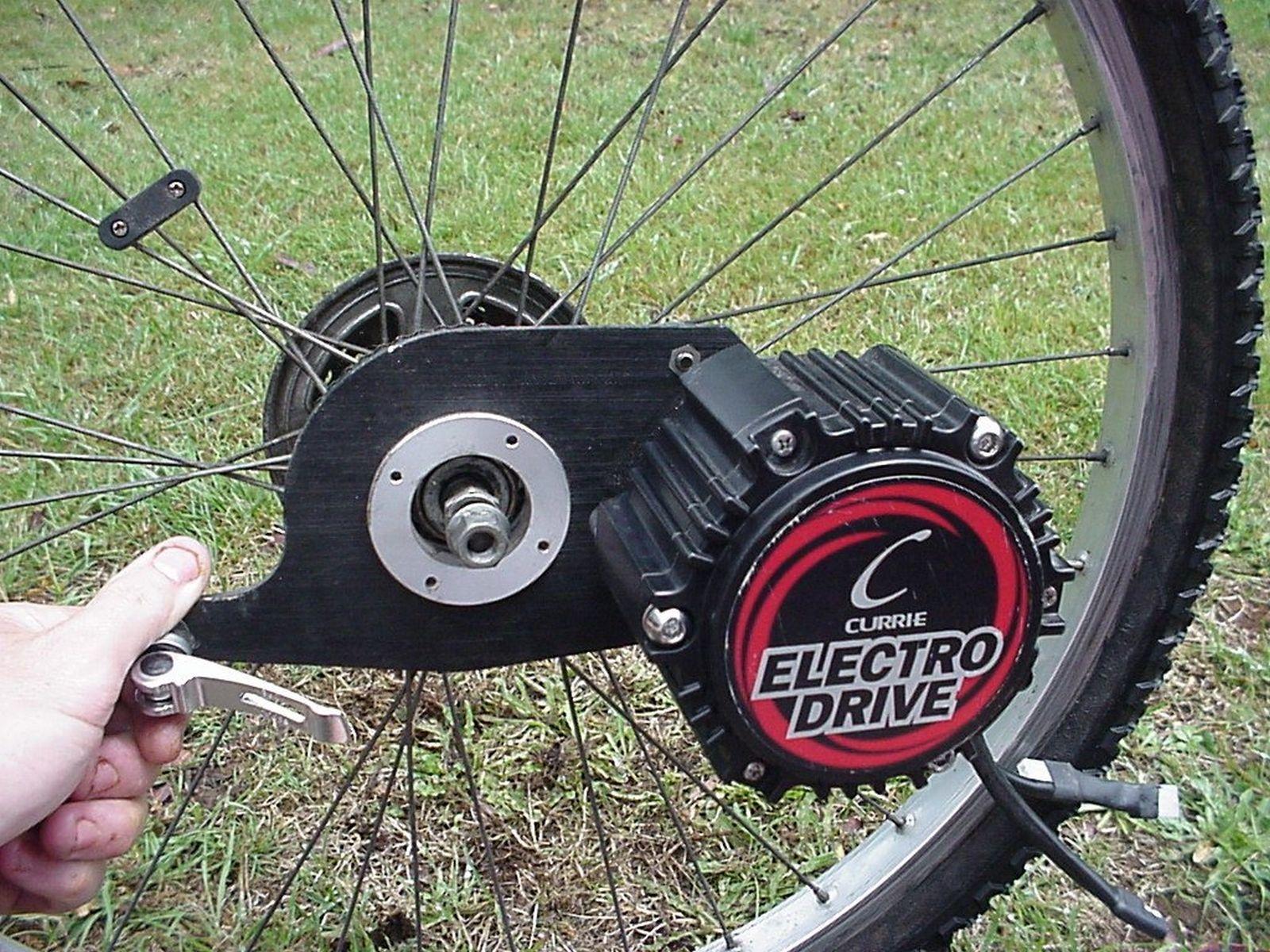 Currie Electrodrive Motor Mounting Electric Bike Diy Electric Bike Kits Bicycle Diy