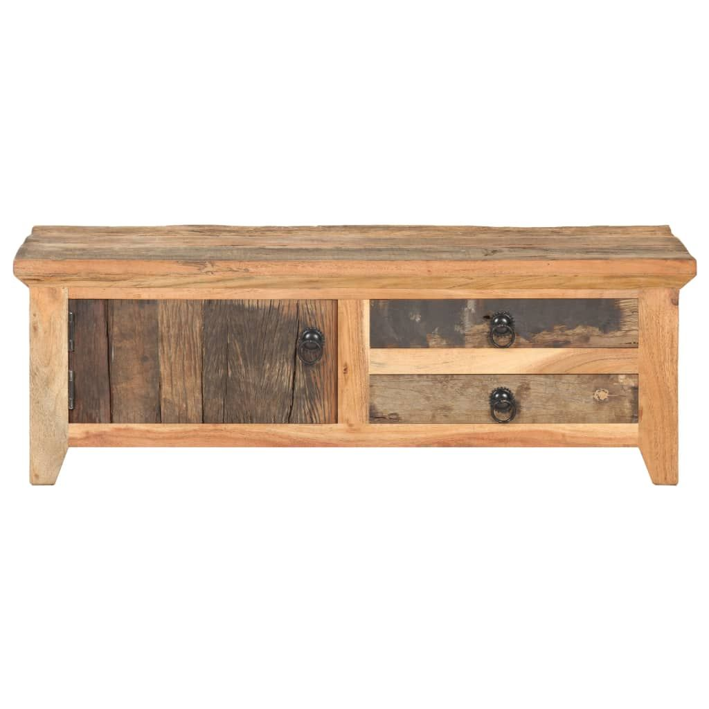 Coffee Table 90x50x31 cm Solid Reclaimed Wood