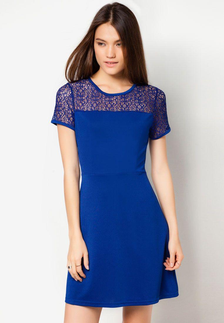 Something Borrowed Mesh Panel Dress®