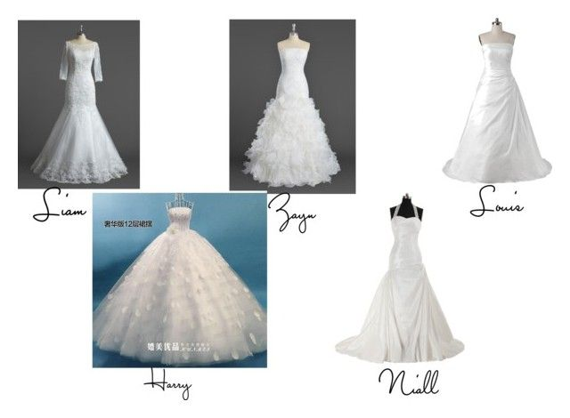 """Preference 15: your wedding dress"" by banphrionsaelizabeth on Polyvore"