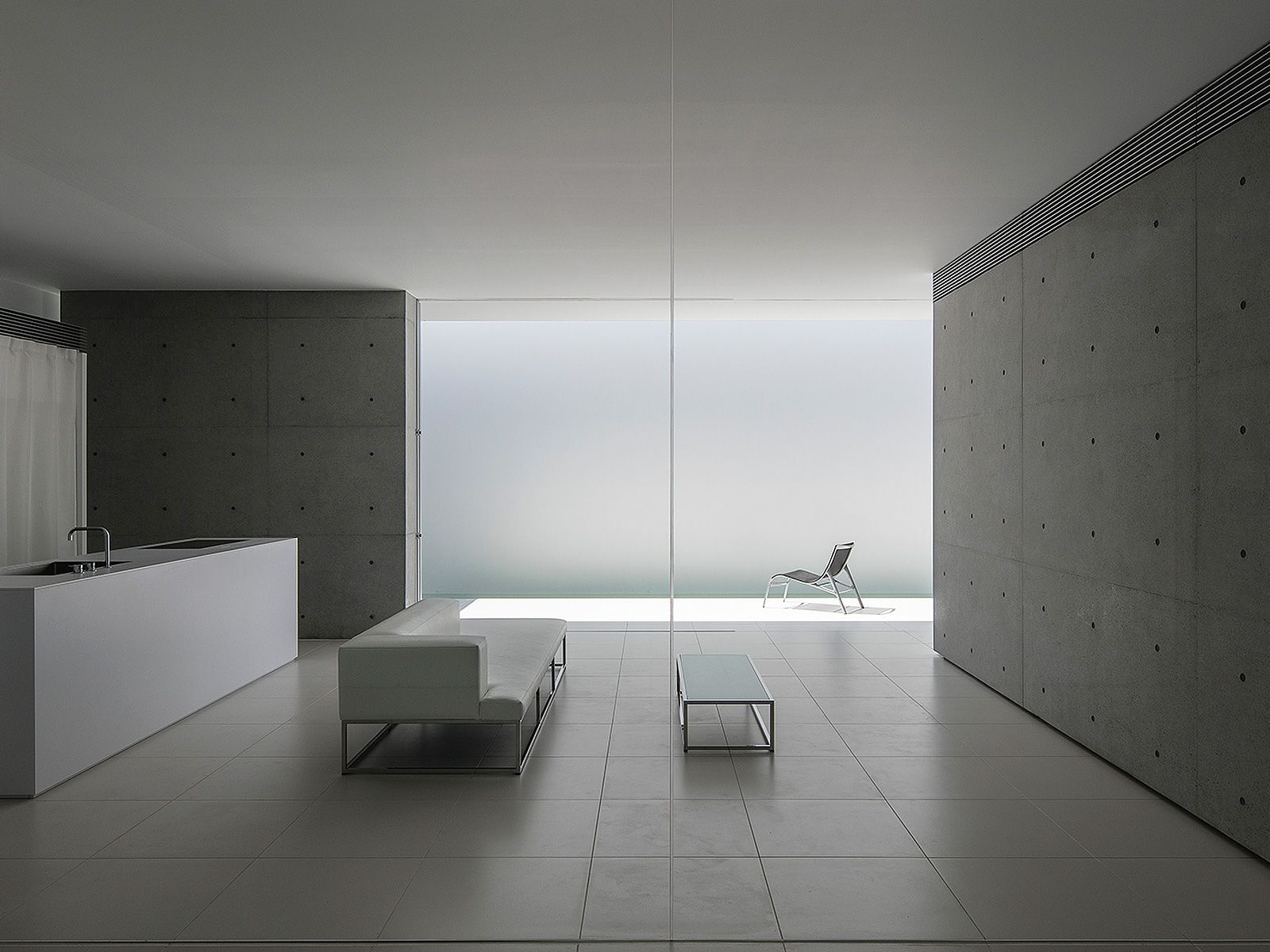 FU House Is A Minimal Home Located In Yamaguchi, Japan, Designed By Kubota