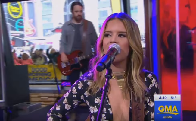 """Maren Morris Makes National TV Debut With Killer Performance Of """"My Church"""""""