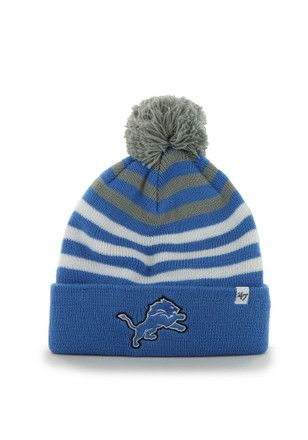 the best attitude 7a4d9 ea843  47 Detroit Blue Yipes Cuff Youth Knit Hat.