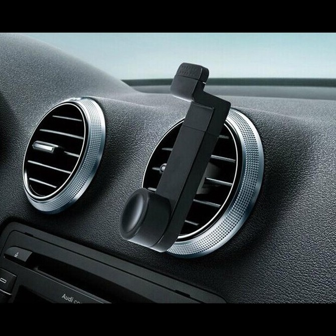 Watch Now Car Air Vent Panel Phone Holder Case For Samsung - Audi iphone 6 car mount