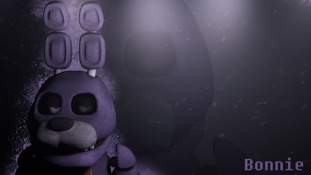 Five Nights At Freddy S Bonnie Wallpaper Download By Niksonx