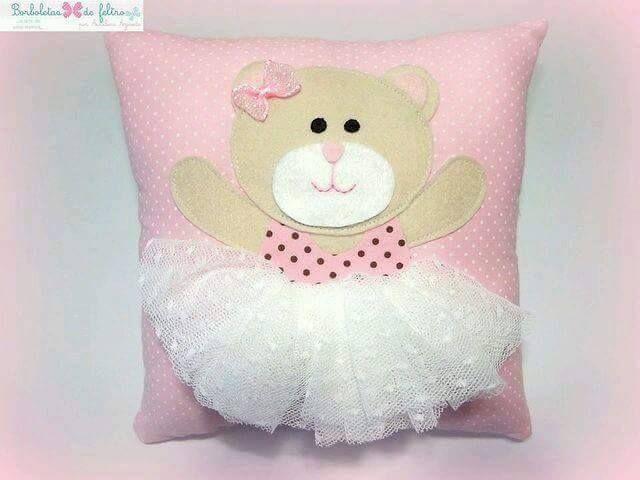 Dyi cojines y cuadros decorativos para nina 29 - Cojines para bebes ...