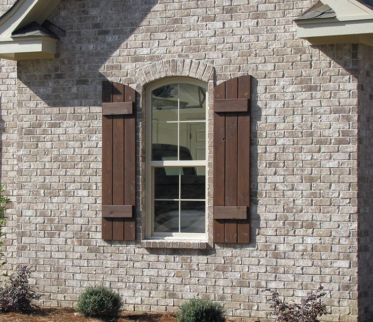 White Wash Brick Exterior With Siding