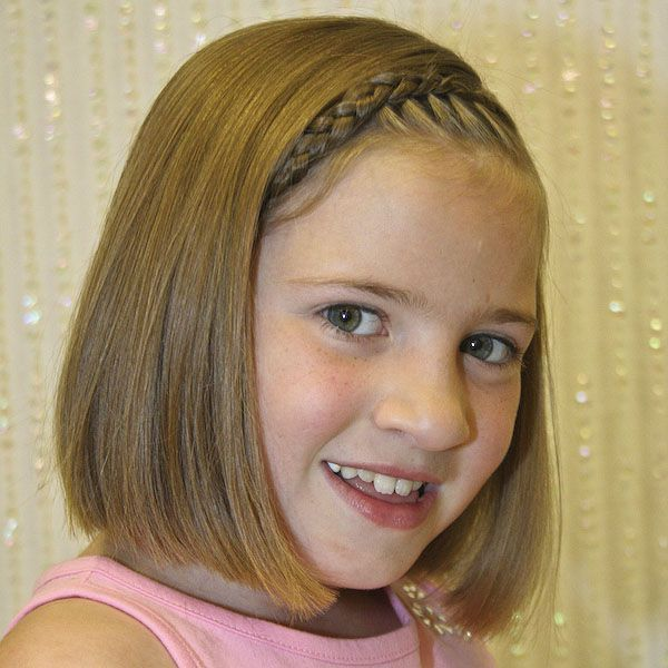 Nice Cute Hairstyles For Short Hair For Kids With Photos Of The A - Hairstyles for short hair little girl