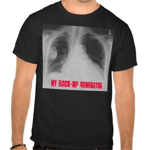 Pacemaker 2 my back up generator t shirt for Random t shirt generator