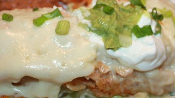 These white chicken enchiladas are a cinch to make with ingredients right off the shelf. The only skill required is in measuring, the rest just works itself out!