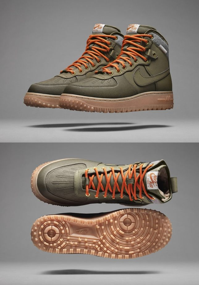 reputable site 345b8 7ce7e Nike Air Force 1 Duckboot. Utilitarian but yet stylish. I like.