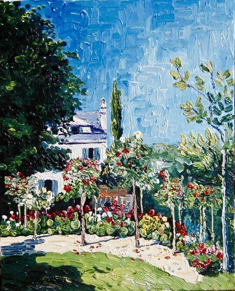 Le jardin de Monet en 2020 | Monet, Jardins et Huile sur toile