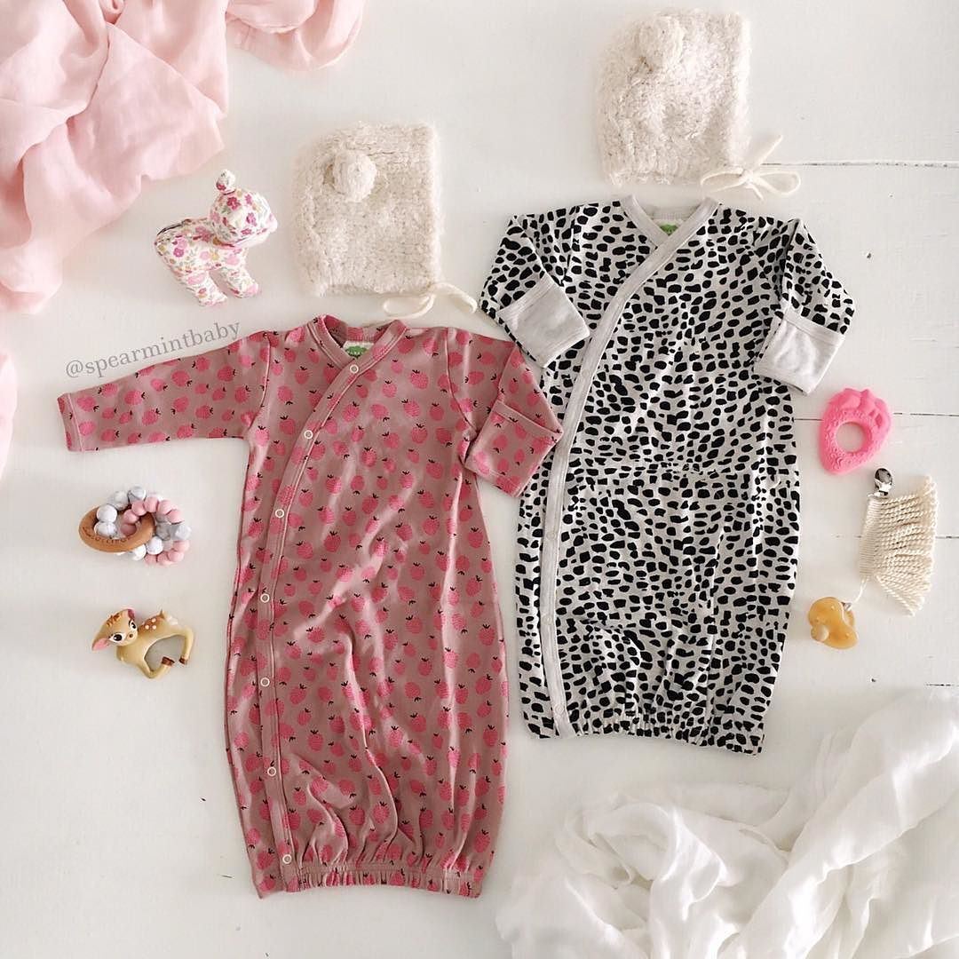 Organic Cotton Kimono Gowns Spearmintlove Com Future Babe