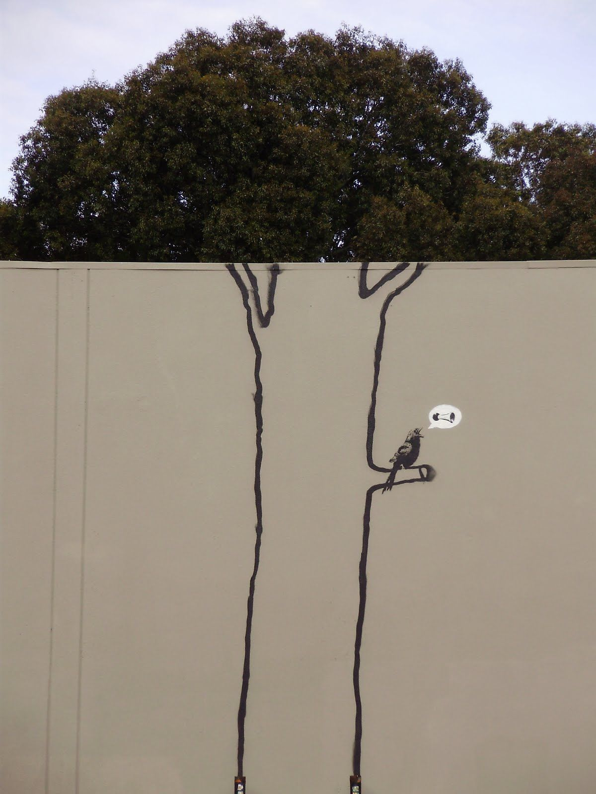 New Banksy 2013 Wall Art Canvas Picture Print Banksy Aladdin Sane