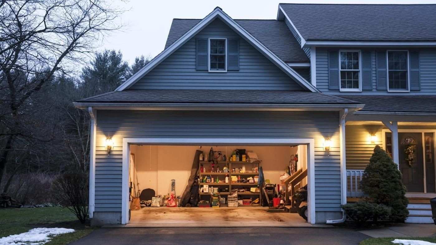 What Is The Size Of A Typical Garage Garage Doors Garage Doors Prices Garage Security