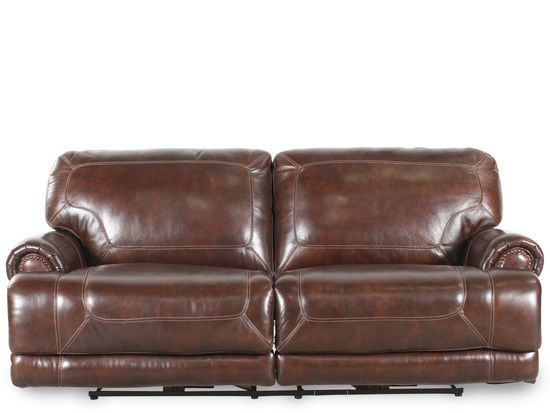 Simon Li Leather Stampede Coffee Motion Sofa With Images Brown Leather Sofa Leather Reclining Sofa Sofa