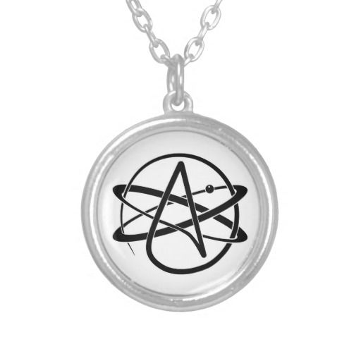 Atheist Symbol Pendant They Have Their Own Theory Religion And