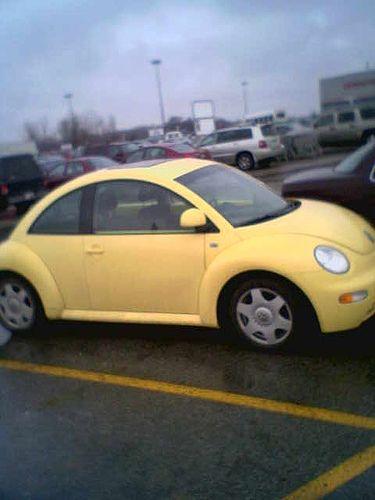 Slugbug Yellow Bug Car Cute Cars Beetle Convertible