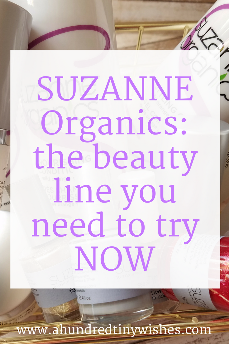 How to up your beauty game with SUZANNE Organics Beauty
