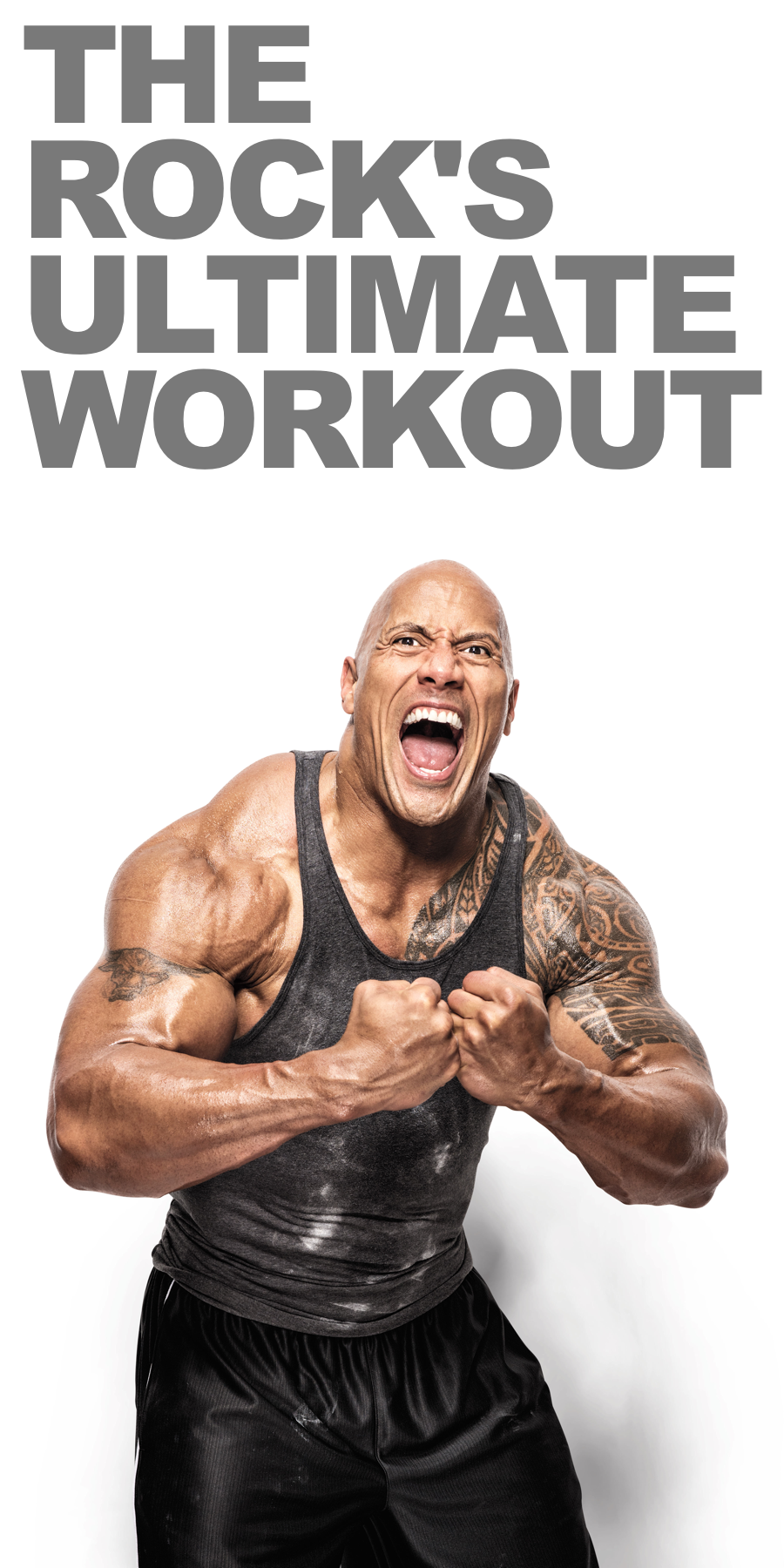 Learn How To Go Beast Mode In The Gym Like Dwayne The Rock Johnson As He Shares What He Cal The Rock Dwayne Johnson Workout The Rock Workout Ultimate Workout