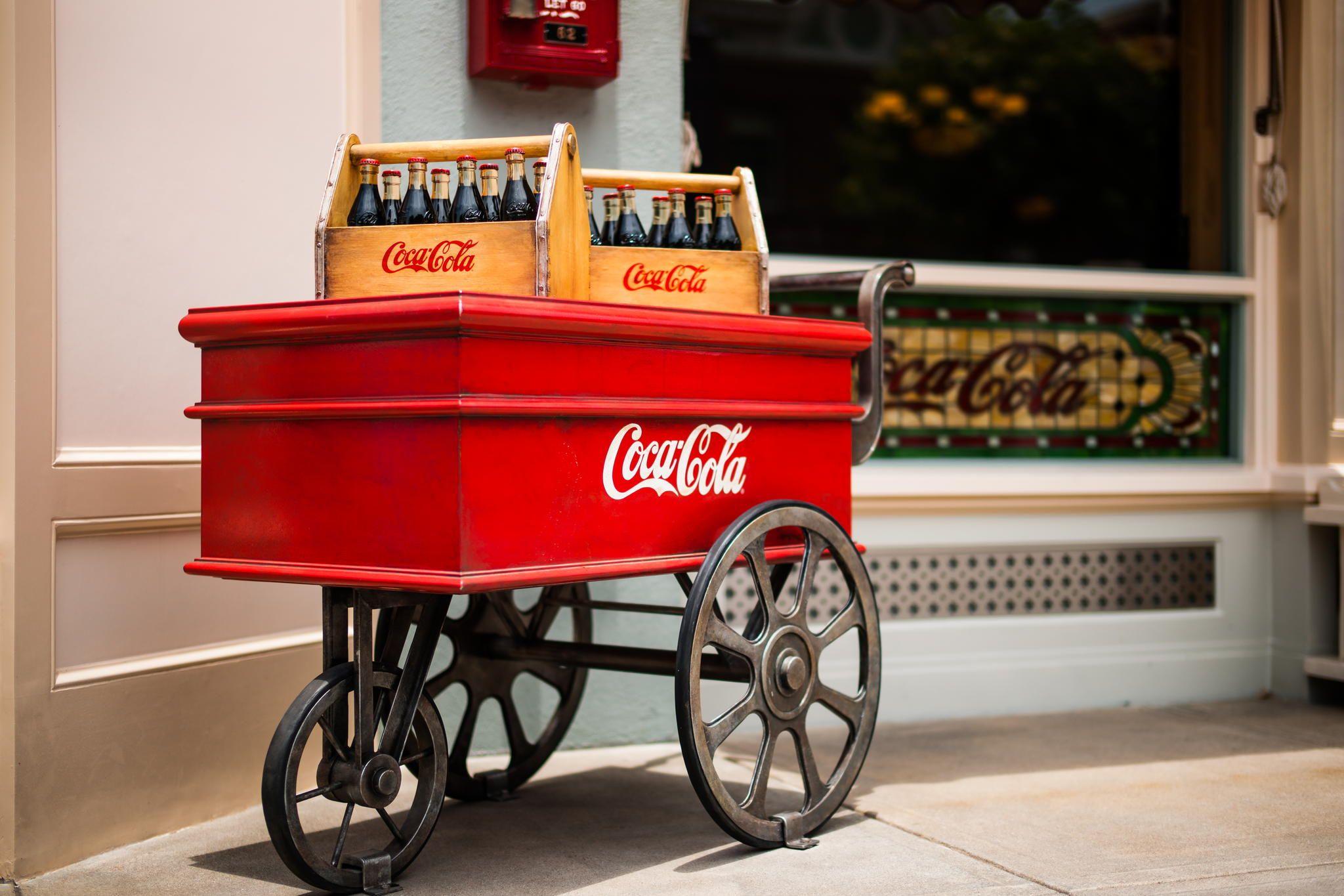 Coke Trolley By On 500Px