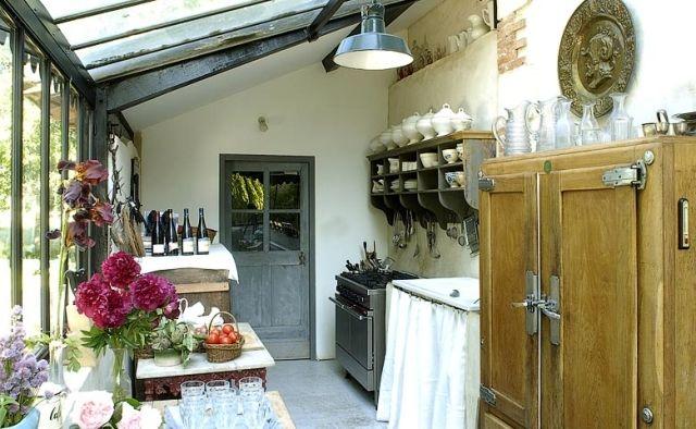 Cocinas de casa de campo francesa en pinterest cocinas - Decoracion casa de campo ...