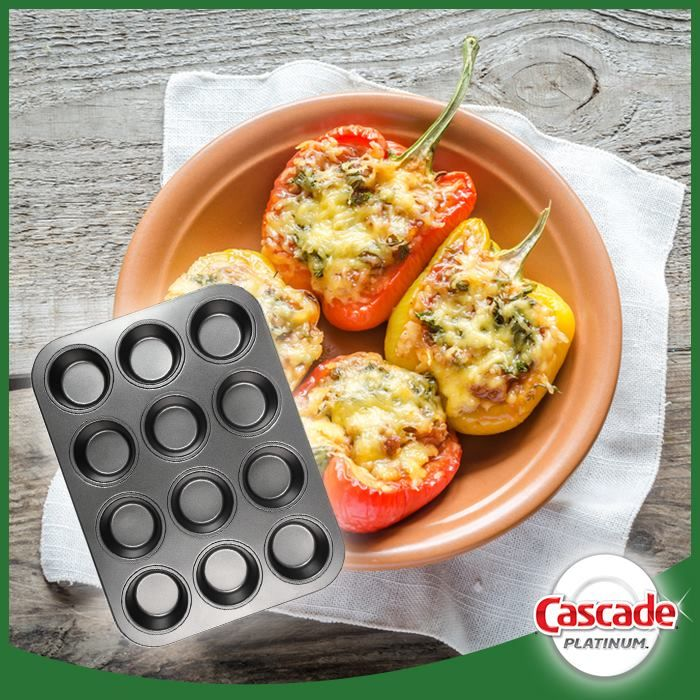 Making stuffed peppers the easy way!