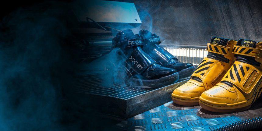 bc4f47cdf0ad Reebok nous fait revivre le combat emblématique dAlien avec des  Sneakershttp   www.