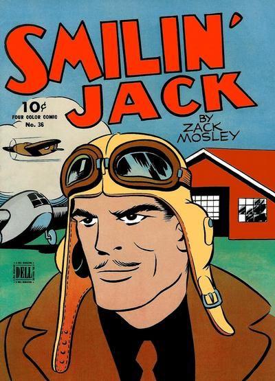 Smiling jack comic strip