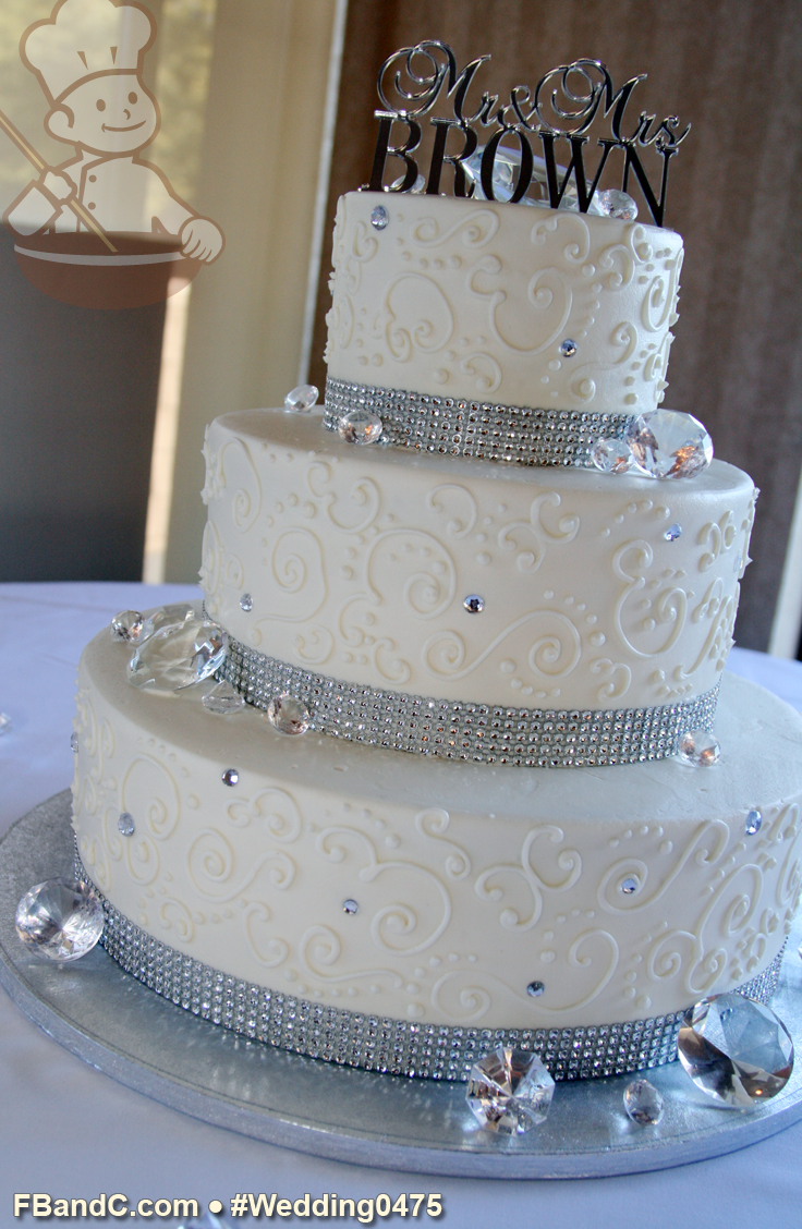 14 10 6 wedding cake design w 0475 butter wedding cake 14 quot 10 quot 6 10040