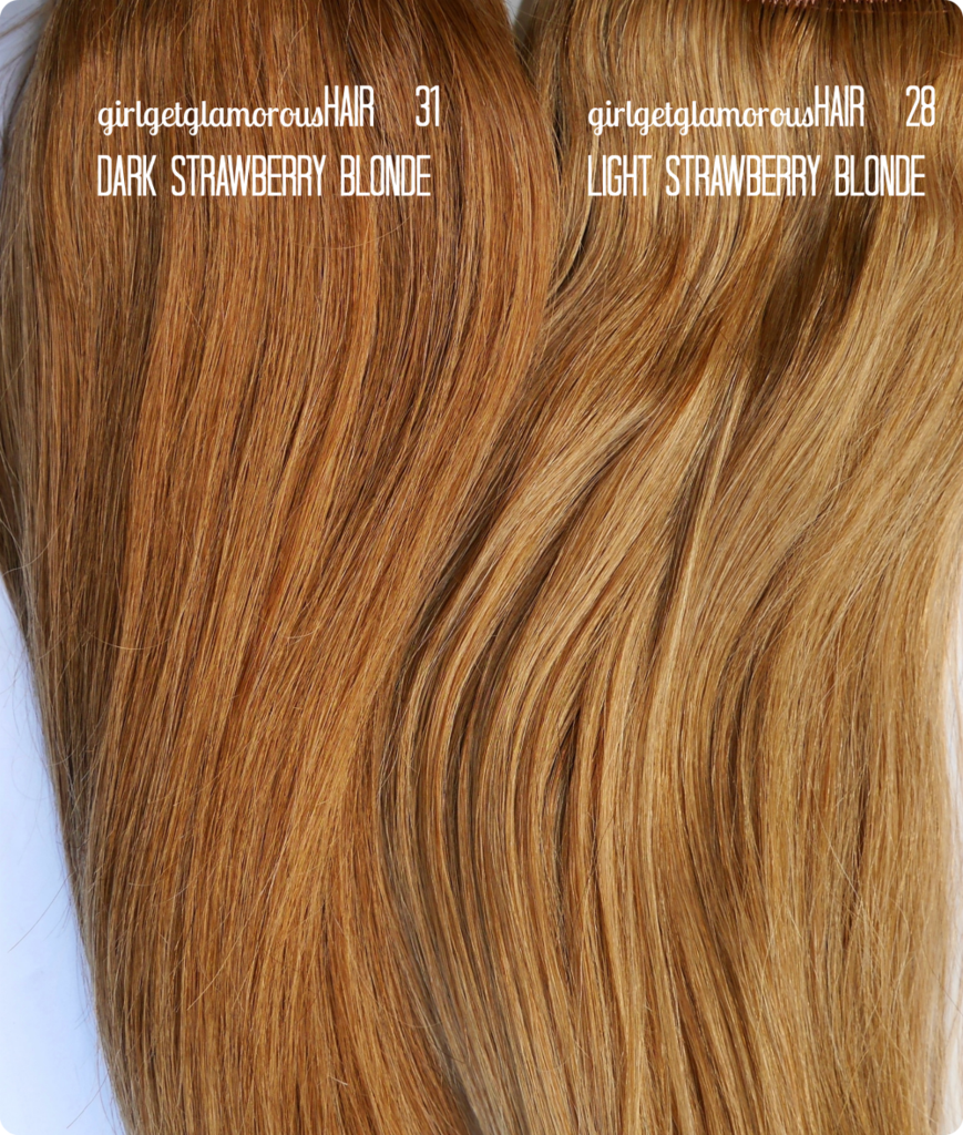 Signature Strawberry Blonde Shade Description:  31 Dark Strawberry Blonde Shade 31 is our strawberry blonde shade that is more red than our original Strawberry