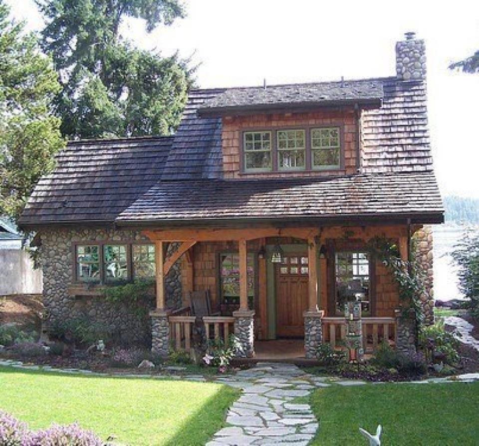 Lakefront Cottage Design Idea Observation Loft: ♦Cozy Cottages & Decor