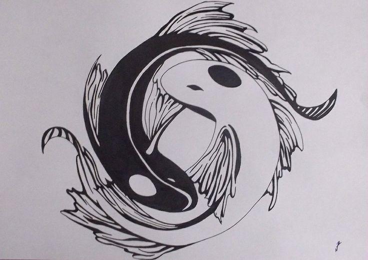 Avatar Last Airbender Fish Tattoo Tattoos Koi Yin Yang Koi