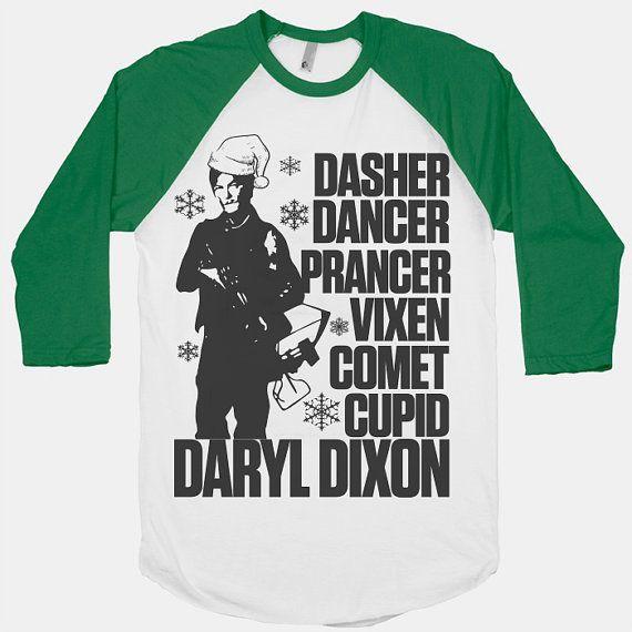 Daryl Dixon Walking Dead Christmas Shirt Christmas Tshirt