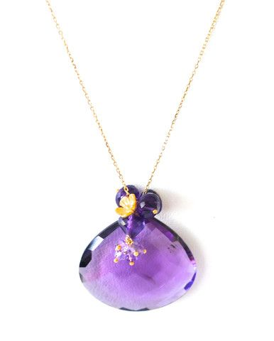 "Luxury Amethyst Necklace ""Stunning"""