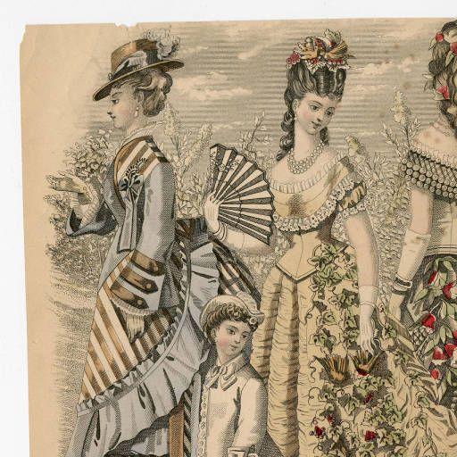 Women 1875-1876, Plate 078 :: Costume Institute Fashion Plates