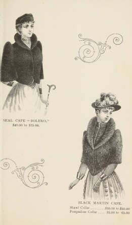Lamson & Hubbard, manufacturers of ladies' furs of every description : wholesale and retail :: Trade Catalogs
