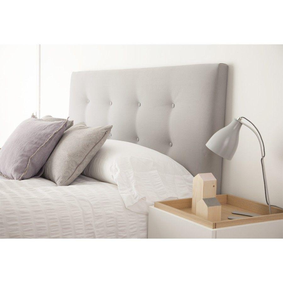 Cabecero capiton camas cabeceros dormitorios kenay - Cabeceros cama tela ...