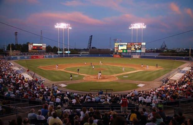 the 25 coolest minor league ballparks in america | harbor