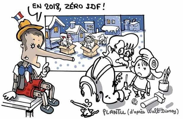 Plantu (2018-03-01) France Emmanuel Macron PINOCCHIO Le dessin du - apprendre a dessiner une maison