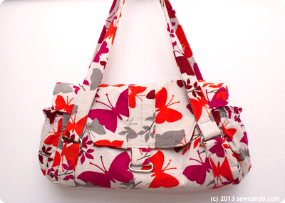 ChrisW Designs Bag Patterns : made in a corduroy print