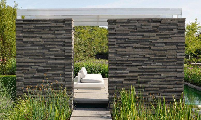 gartenlandschaft peter berg Stützmauern Pinterest Gärten - gartenzaun modern metall