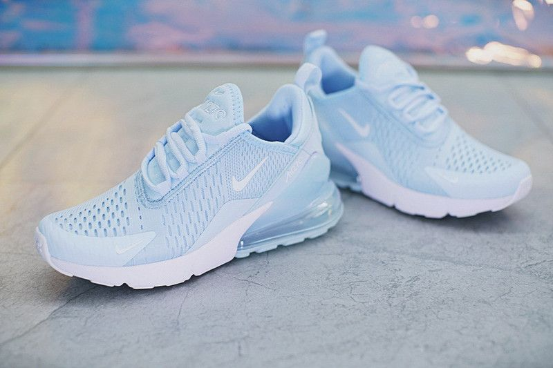 c72c6744 Spring Summer 2018 Shop Women Nike Air 270 Flyknit Light Bule AH8050-410