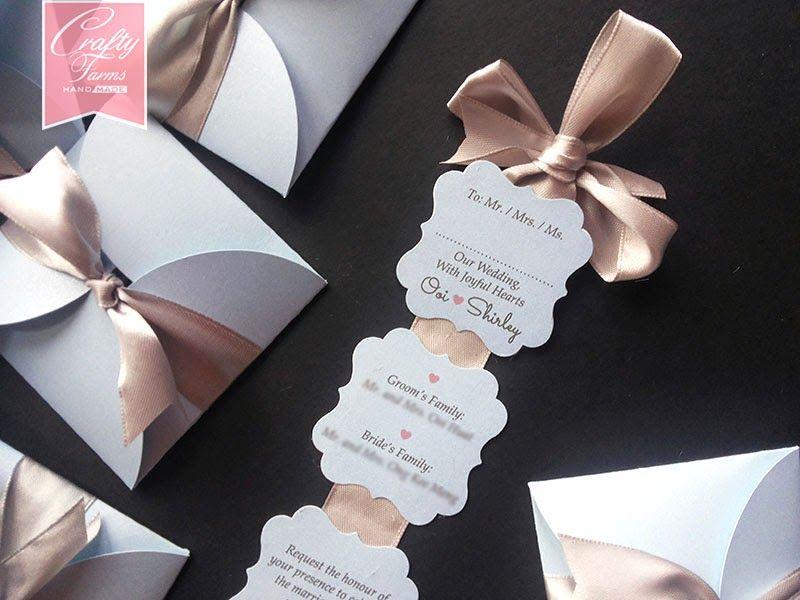 Wedding Photo Printing, Kad Kahwin, Personalized Wedding Invitation - formal handmade invitation cards