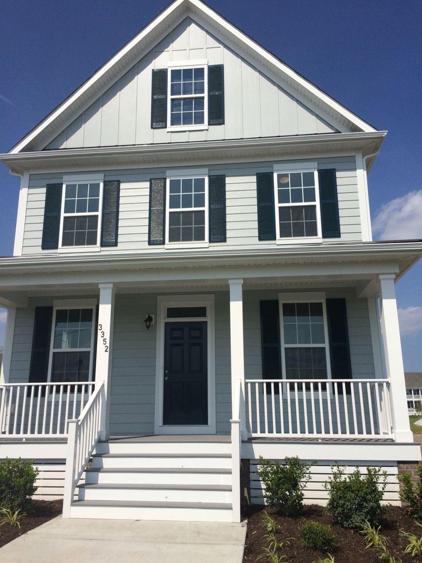 Light Mist Hardie Plank House Colors Exterior House Colors